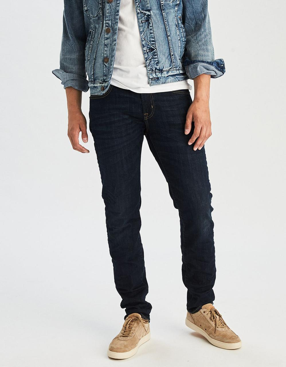 8674415f7f753 American Eagle Jeans, AE Extreme Flex Slim Straight Jean for Men at ...