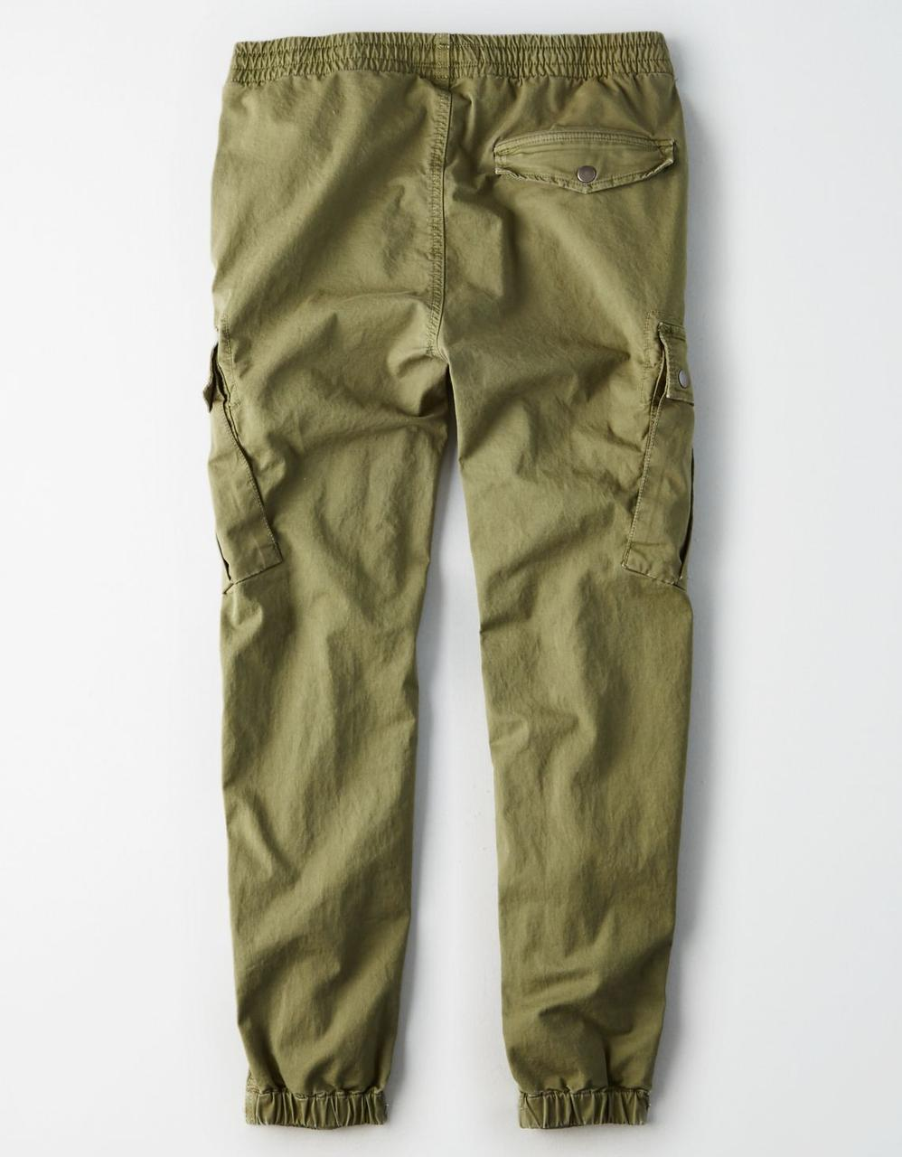 64ae79e346 American Eagle Joggers, AE Military Cargo Jogger for Men at Aeo.in