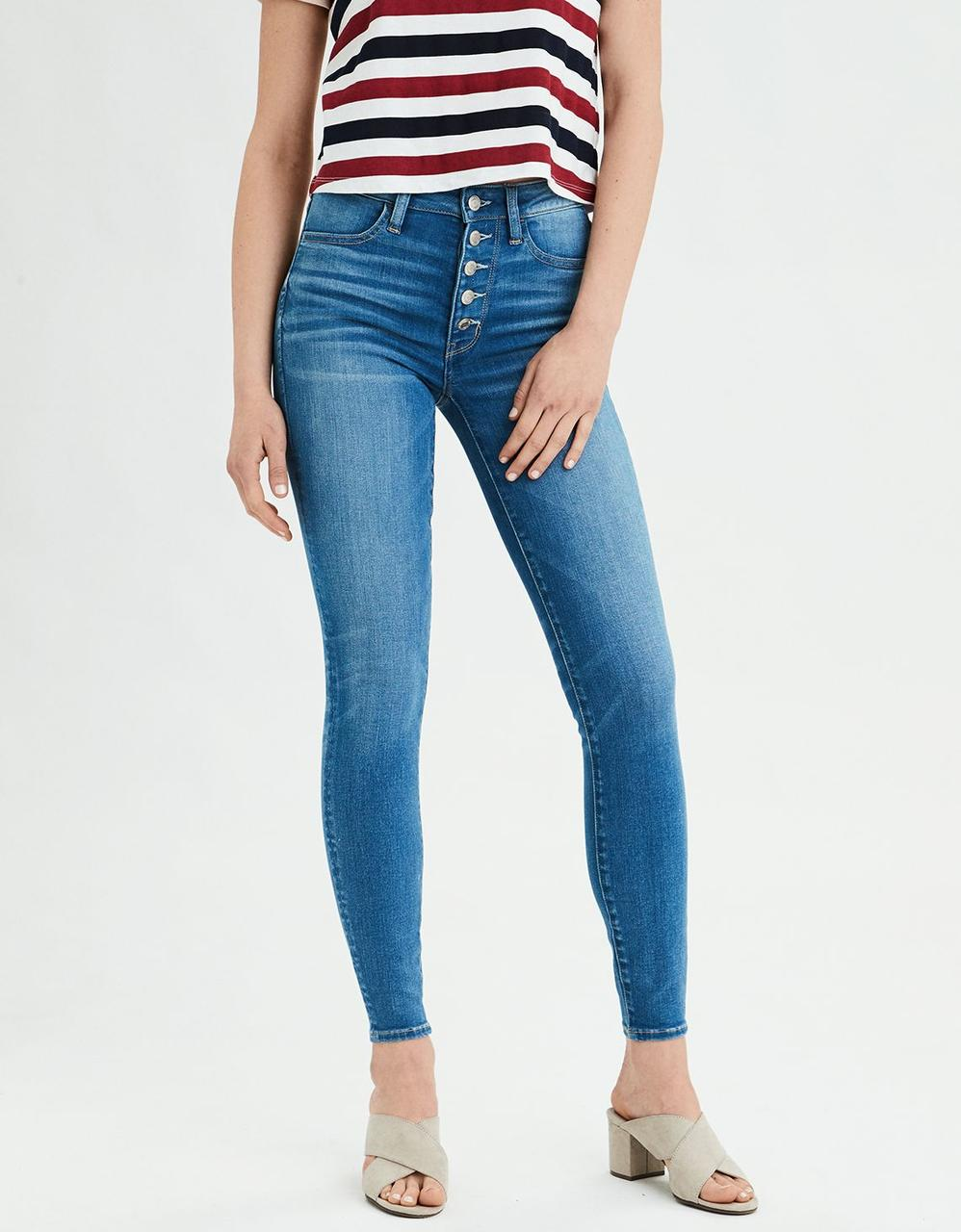 df992a79e15f9 American Eagle Jeans, AE NE(X)T LEVEL SUPER HIGH-WAISTED JEGGING for ...