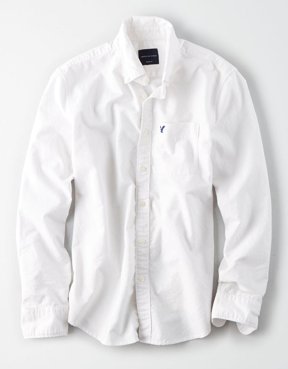 43ade2013427 American Eagle Shirts, AE OXFORD BUTTON-DOWN SHIRT for Men at Aeo.in