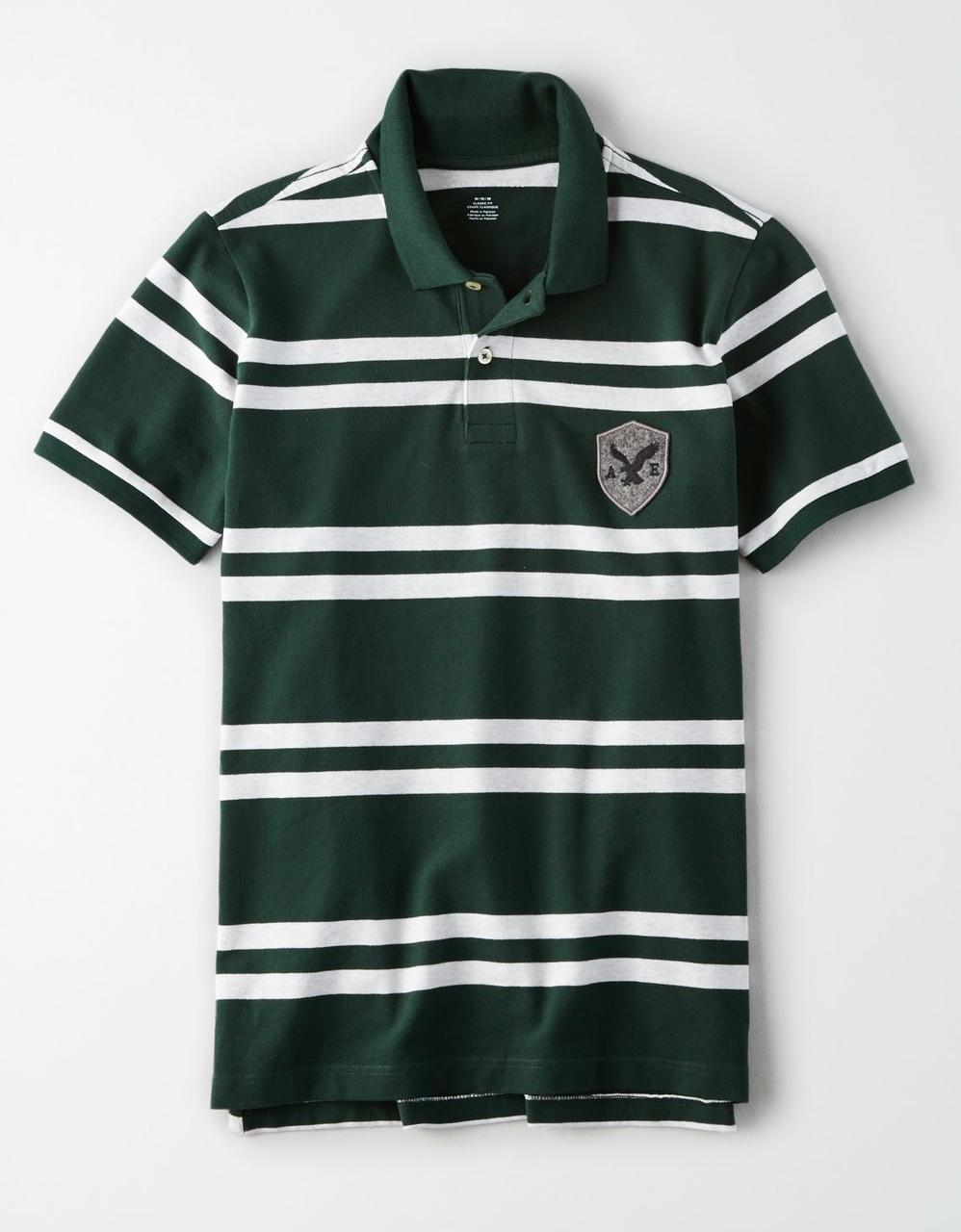 e6f2110440 American Eagle Polo T-Shirts, AE RUGBY STRIPE POLO for Men at Aeo.in