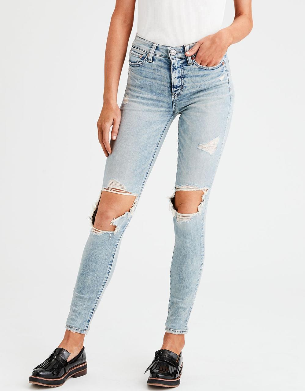 a69509e9 American Eagle Jeans, AE NE(X)T LEVEL HIGH-WAISTED JEGGING for Women ...