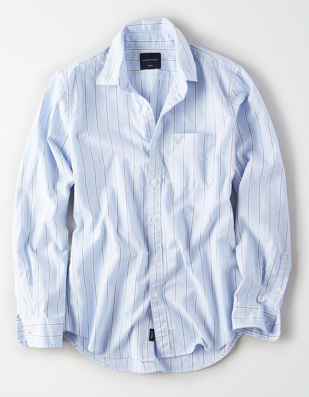 d3a2152f8c27 American Eagle Shirts, AE LONG SLEEVE OXFORD BUTTON DOWN SHIRT for ...